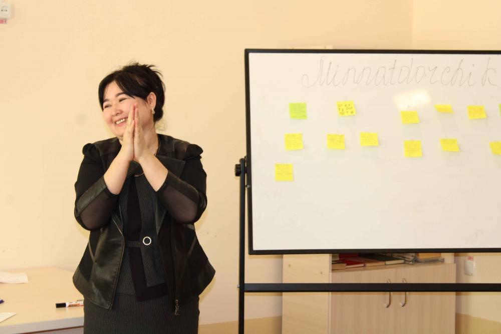 """Filial """"Talabalar turar joyi""""da psixologik seminar-trening o'tkazildi"""